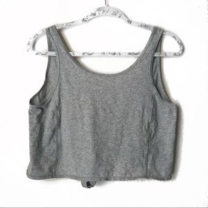 lululemon athletica Tops - Lululemon It's A Tie Heathered Core Light Grey 4
